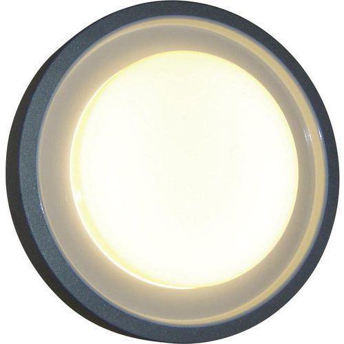 Lampa ścienna zewnętrzna ECO-Light 3351 si, 1x60 W, E27, IP54, (ØxW) 30 cmx8.7 cm, 3351 si