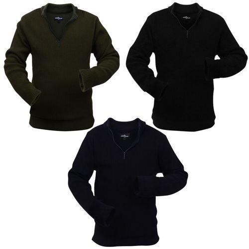 męskie swetry robocze 3 szt. niebieski, zielony i czarny, rozmiar xl marki Vidaxl
