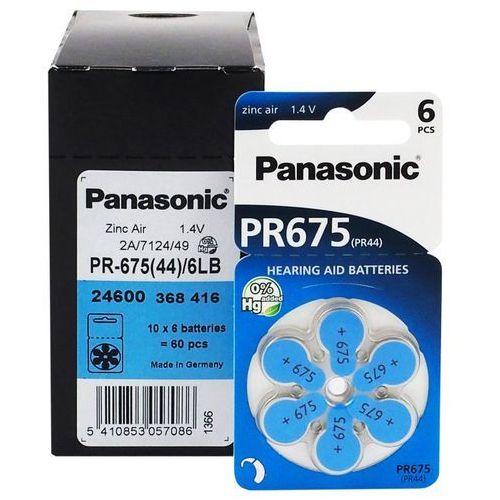 Panasonic 600 x baterie do aparatów słuchowych  675 / pr675 / pr44