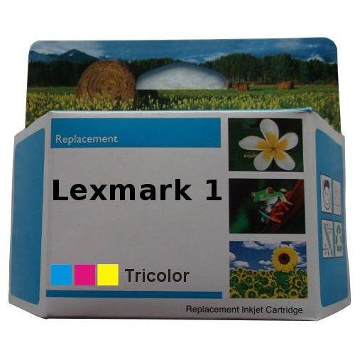 Zastępczy atrament lexmark 1 [18cx781e] color 100% nowy marki Anycolor