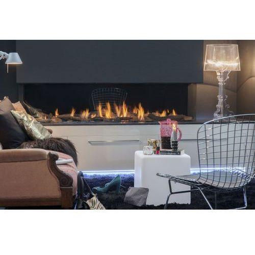 Kominek gazowy wewnętrzny faber triple premium xxl - model 3-szybowy marki Faber - nowość 2020