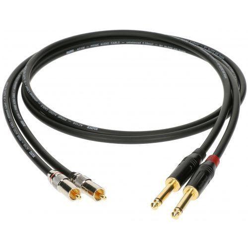 Klotz kabel 2xRCA / 2xTS 5m