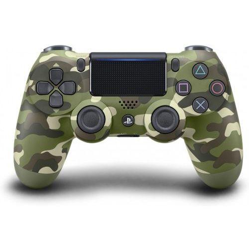 Kontroler bezprzewodowy SONY PlayStation DUALSHOCK 4 v2 Green Camouflage (0711719894858)