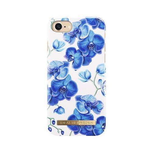 Ideal of sweden fashion case etui obudowa do iphone 8 / iphone 7 / iphone 6s / iphone 6 (baby blue orchids) (7340168700897)