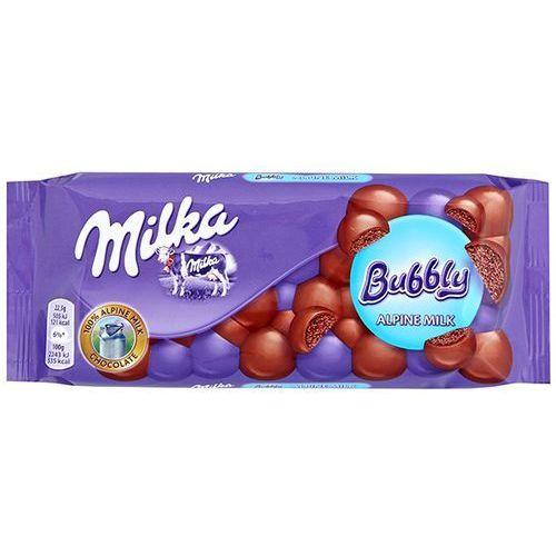 MILKA 90g Czekolada Bubbly Alpine Milk (7622210369444)