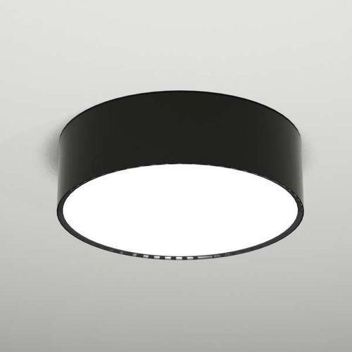 Plafon LAMPA sufitowa ZAMA 1127/GX53/CZ Shilo natynkowa OPRAWA metalowa do łazienki okrągła czarna, kolor Czarny