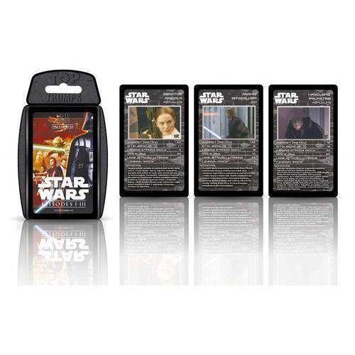 TOP TRUMPS Gra karciana Star Wars 1-3 - DARMOWA DOSTAWA OD 199 ZŁ!!! (5036905027625)