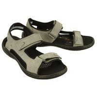 NIK 06-0232-02-8-08-03 szary, sandały męskie