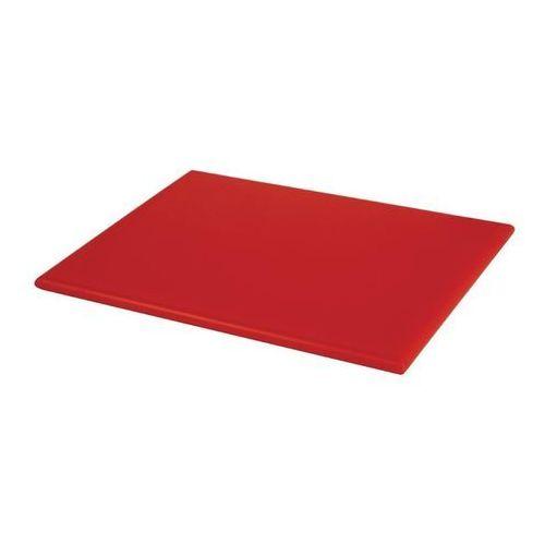 Deska do krojenia | mała | wysoka gęstość | czerwona