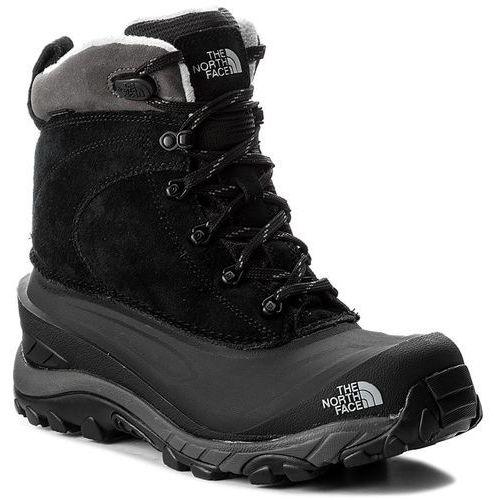 Śniegowce THE NORTH FACE - Chilkat III T939V6WE3 Tnf Black/Dark Gull Grey, kolor czarny