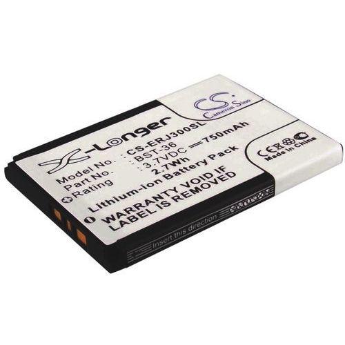 Sony ericsson j300 / bst-36 750mah 2.78wh li-ion 3.7v () od producenta Cameron sino