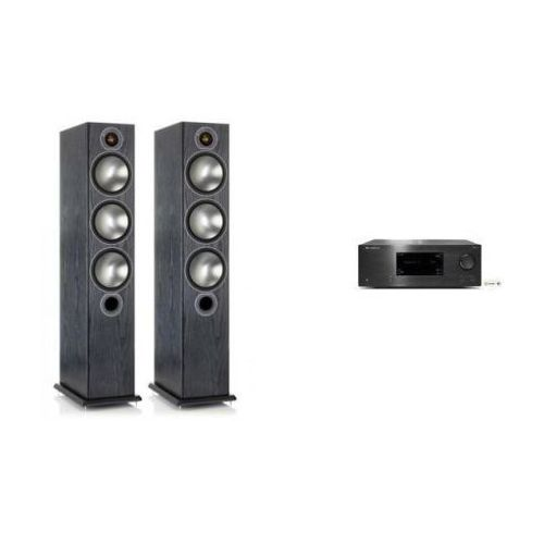 Zestawy Cambridge audio cxr120 + monitor audio bronze 6