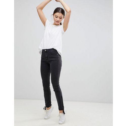 Glamorous Skinny Jeans - Black, kolor czarny