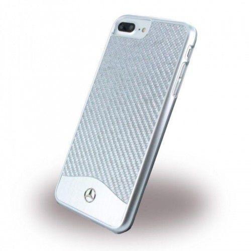 Mercedes Hardcase iPhone 7 Plus - Silver (3700740388020)