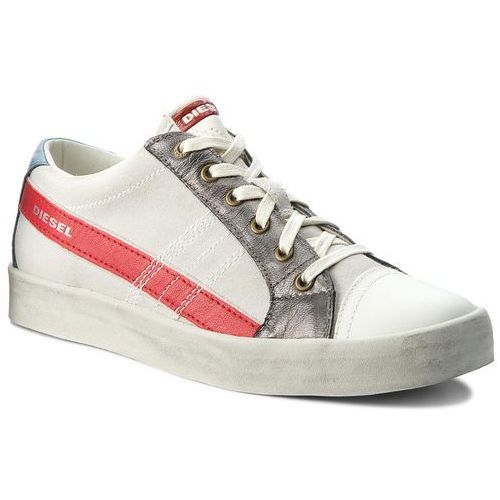 Diesel Sneakersy - d-string low y01641 p1435 h6616 dirty white/aurora r