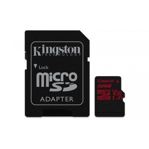 KINGSTON microSD 32GB 100MB/s SDCR/32GB >> KUP W NEO24.PL I ZYSKAJ 20% NA DRUGI TAŃSZY PRODUKT, SDCR/32GB