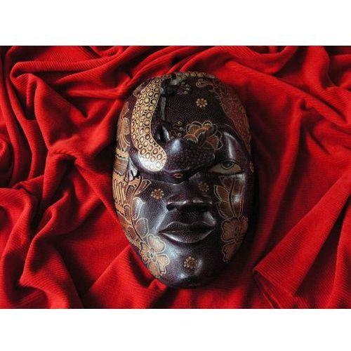 Dekoracyjny Prezent RZEŹBA Egzotyczna Maska ZDROWIA