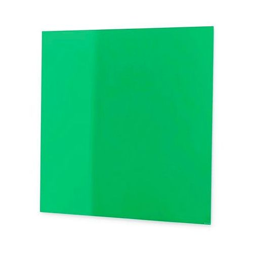 Tablica suchościeralna Mood, szkło, magnetyczna, 1000x1000 mm, zielony