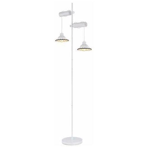 Globo Jowita 54050-2S lampa stojąca podłogowa 2x40W E27 biała (9007371408450)