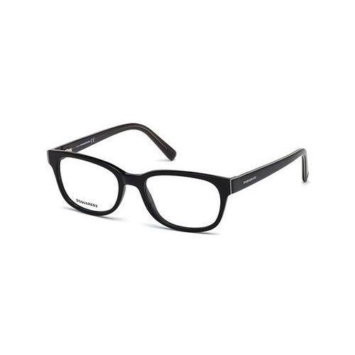 Okulary korekcyjne dq5218 001 marki Dsquared2