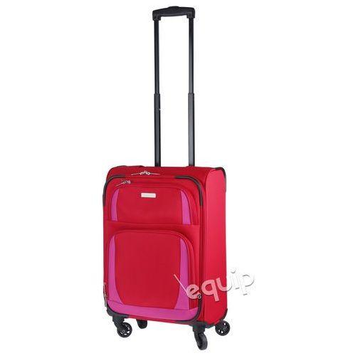 Travelite Walizka kabinowa paklite rocco - czerwony/różowy