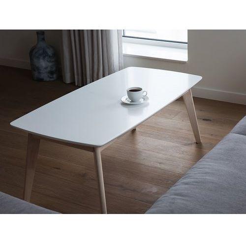 Beliani Stolik kawowy - biały - ława kawowa - stół - do salonu - santos (7105277909094)