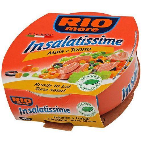 RIO MARE 160g Gotowe danie z kukurydzy i tuńczyka (8004030022010)