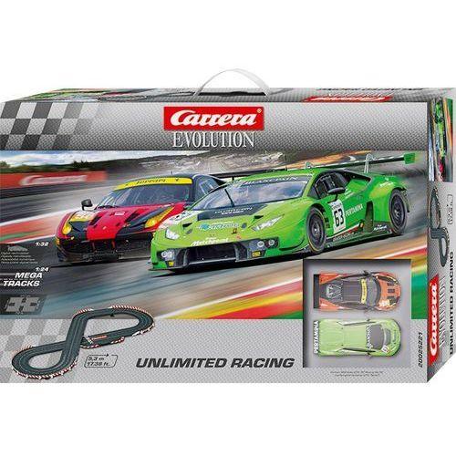Tor wyścigowy evolution unlimited racing unlimited racing 20025221, zestaw startowy marki Carrera