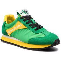 Sneakersy CALVIN KLEIN JEANS - Jerrold S0615 Multi Green, w 7 rozmiarach