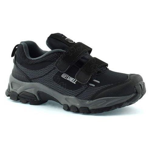 Buty sportowe dla dzieci 1618 - czarny ||szary marki American club