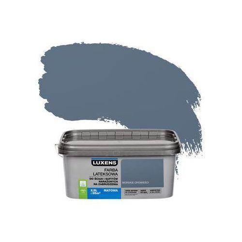 Farba wewnętrzna narażonych na zabrudzenia 2,5 l morskie opowieści marki Luxens