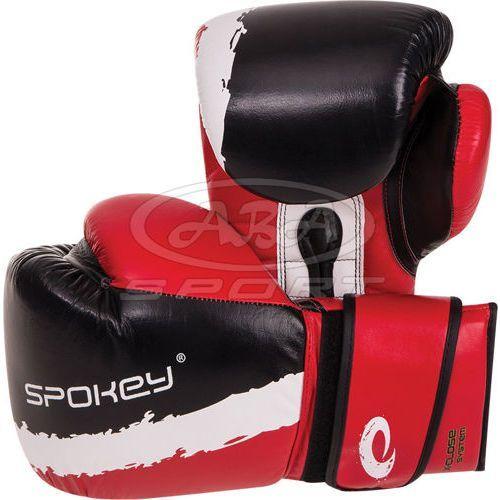 Rękawice bokserskie eiko - czerwony marki Spokey