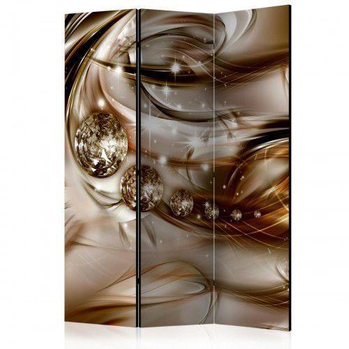 Artgeist Parawan 3-częściowy - czekoladowy przypływ [room dividers]