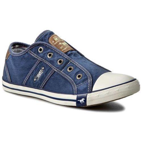 Trampki MUSTANG - 38A024 Jeansblau, 1 rozmiar
