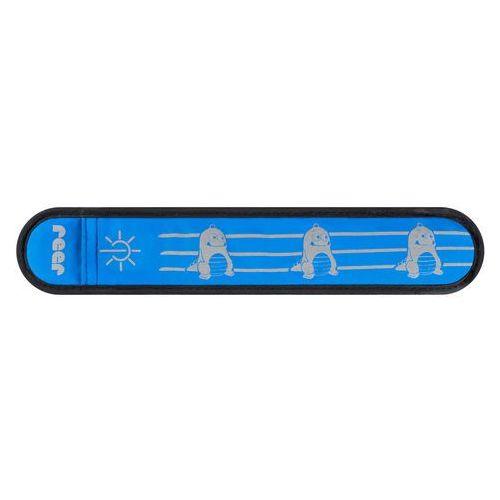 Reer Opaska odblaskowa z diodami led, zatrzaskowa, - niebieski (4013283530429)