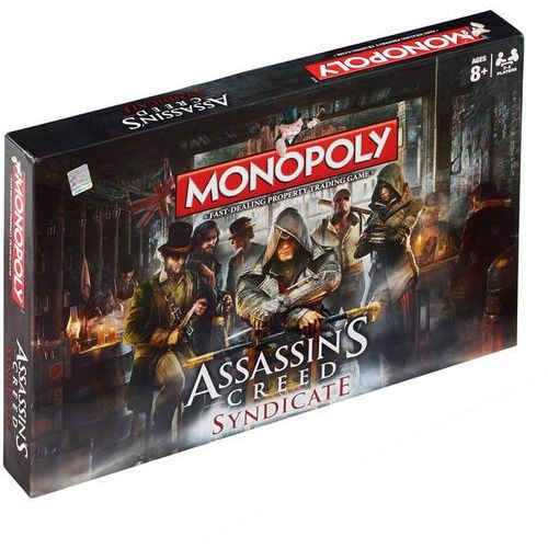 OKAZJA - Winning moves Monopoly assassin's creed syndicate