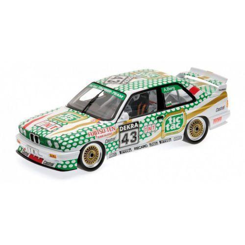 MINICHAMPS BMW M3 (E30) Tic Tac Tauber