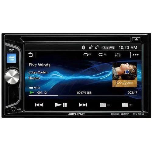 Radio samochodowe ive-w560bt + darmowy transport! marki Alpine