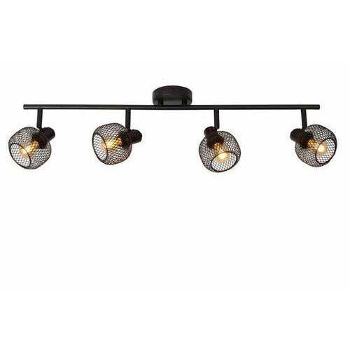 Lucide maren 77978/04/30 plafon lampa sufitowa 4x40w e14 czarny