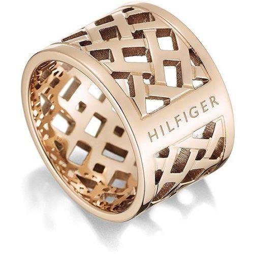 Tommy Hilfiger Oryginalny pierścień pozłacany stali TH2700744 (obwód 58 mm) (2376873588739)