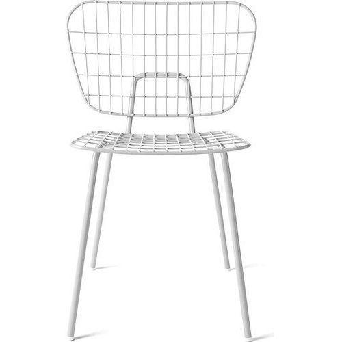 Menu Krzesło wm string dining chair białe