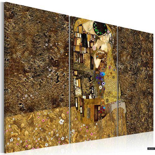 SELSEY Obraz - Klimt inspiracje - Pocałunek 120x80 cm (5903025034980)