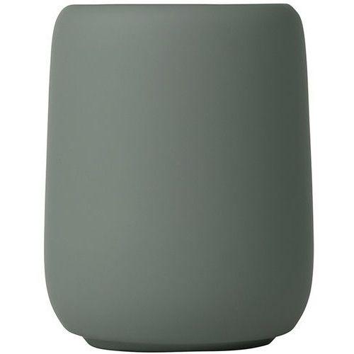 Kubek ceramiczny na szczoteczki do mycia zębów sono agave green (b69073) marki Blomus
