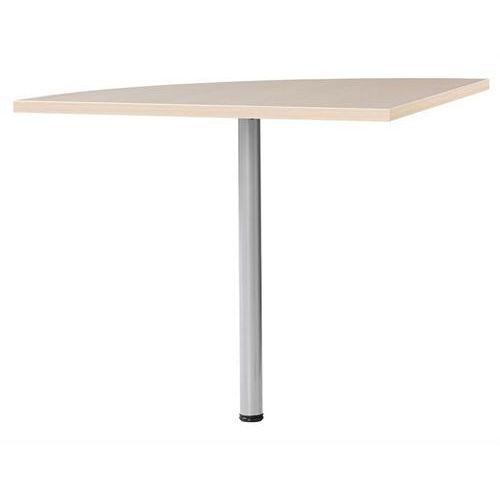 Blat naro�ny do biurka PRIMA 80cm - jasny klon \ szary