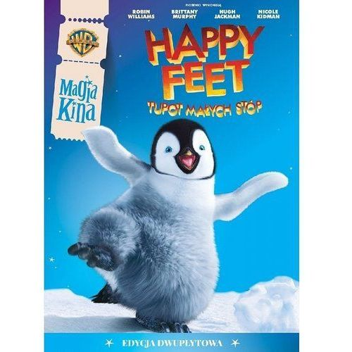 Happy Feet. Tupot małych stóp (DVD) - George Miller OD 24,99zł DARMOWA DOSTAWA KIOSK RUCHU (7321912145447)