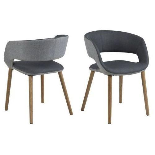 Krzesło Grace light/dark grey