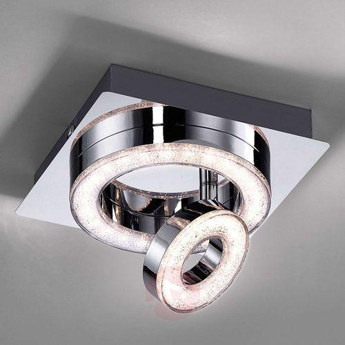 Leuchten Direkt TIM Lampa Sufitowa LED Chrom, 2-punktowe - Nowoczesny/Design - Obszar wewnętrzny - TIM - Czas dostawy: od 2-4 dni roboczych