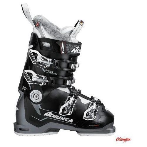 Nordica Buty narciarskie speedmachine 85 w black/anthracite/white 2018/2019