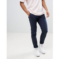 Burton menswear skinny chino in navy - navy