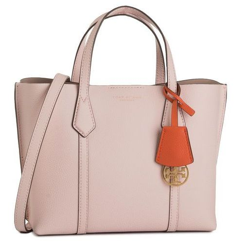Tory burch Torebka - perry small triple-compartment tote 56249 shell pink 652